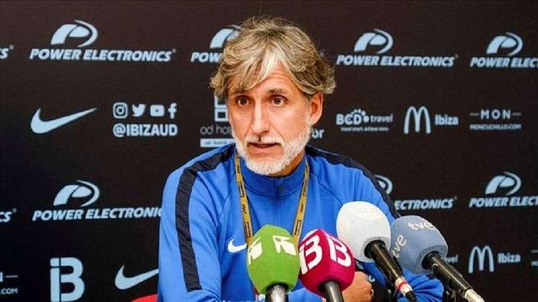 González Fuentes dirigirá el Ibiza-Barcelona. EFE