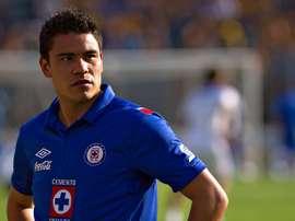 Pablo Barrera, en su etapa como jugador de Cruz Azul. AFP/EFE