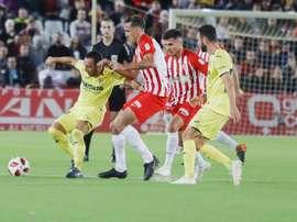 Caballero se lesionó ante el Villarreal. UDAlmeria