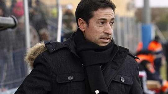 Pablo Franco, durante un partido. EFE