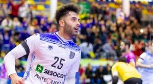Pablo Ibarra ha dado un salto de calidad al equipo. BeSoccer CD UMA Antequera.