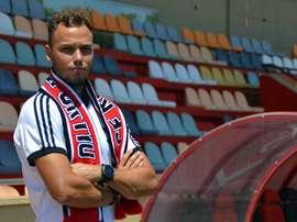 Pablo Íñiguez se incorporó a los entrenamientos. CFReus