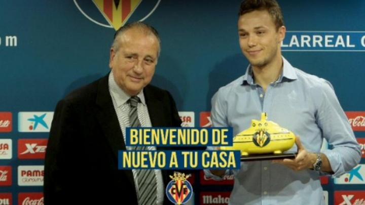 Pablo Íñiguez regresa al Villarreal. Captura/Twitter/VillarrealCF