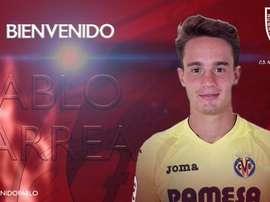 Pablo Larrea, nuevo jugador del Numancia. CDNumancia