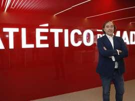 El Atlético de Madrid destituye a Pablo López. Twitter/AtletiFemenino