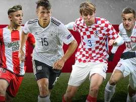 Los cuatro nuevos fichajes del Stuttgart. VfBStuttgart