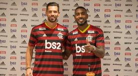Marí (i), alucinado con Flamengo. Flamengo