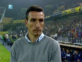 Pablo Quatrocchi ha sido destituido como técnico de Douglas Haig. Archivo/AFP