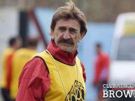 Pablo Vicó lleva una década al frente del club argentino. ClubAtléticoBrown