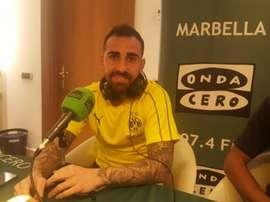 Alcácer vive un gran momento en el Borussia. Twitter/ElTransistorOC