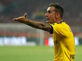 Alcárcer quer voltar a jogar na Espanha. AFP