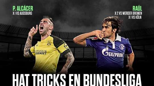 Segundo español que consigue marcar un 'hat trick' en la Bundesliga. BeSoccer