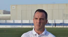 El técnico ya ha dirigido su primera sesión de entrenamiento. MarMenorFC