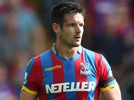 Palace captain Scott Dann is an injury doubt for the game. CPFC