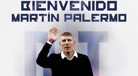 Palermo es nuevo entrenador de Pachuca. Twitter/Tuzos