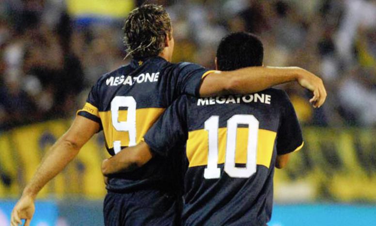 Palermo, leyenda de Boca, se pronunció sobre las finales. EFE