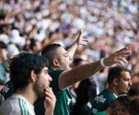 Palmeiras vence o Choque-Rei e agrava a crise no rival. Twitter @avantipalmeiras