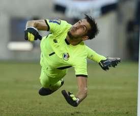 Penedo se retiró de la Selección Panameña. AFP