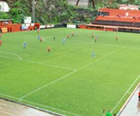 Panorámica del estadio Nuevo Silvestre Carrillo, donde el Mensajero de La Palma juega sus partidos como local. CDMensajeroLaPalma