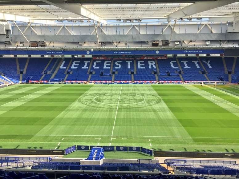 Moore will continue at Leicester. Twitter