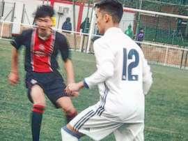 El jugador comenzó su carrera como extremo. Paolomedina