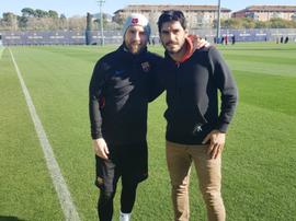 Paolo Suárez es como un padre para su hermano. Twitter