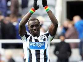 Papiss Cissé, jugador del Newcastle. @CissePapiss