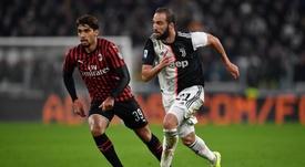 La Juventus supera il Milan. Twitter/JuventusFC