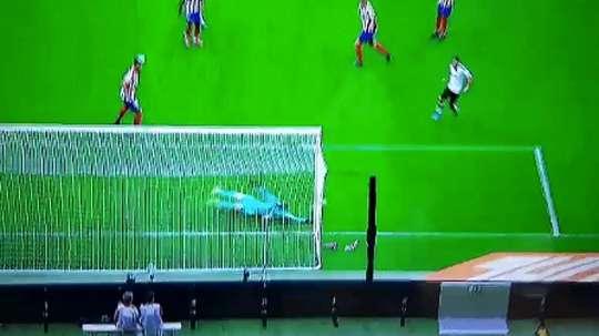Oblak sauve encore l'Atlético de Madrid. Capture/Movistar+