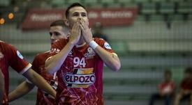 ElPozo vuelve seis años después a la ronda élite de la Liga de Campeones. Twitter/ElPozoMurcia