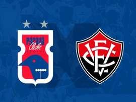 Paraná e Vitória se enfrentam pela 32ª rodada do Campeonato Brasileiro. Twitter @ParanaClube