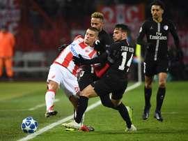 L'Eintracht Francfort officialise l'arrivée de Joveljic. AFP