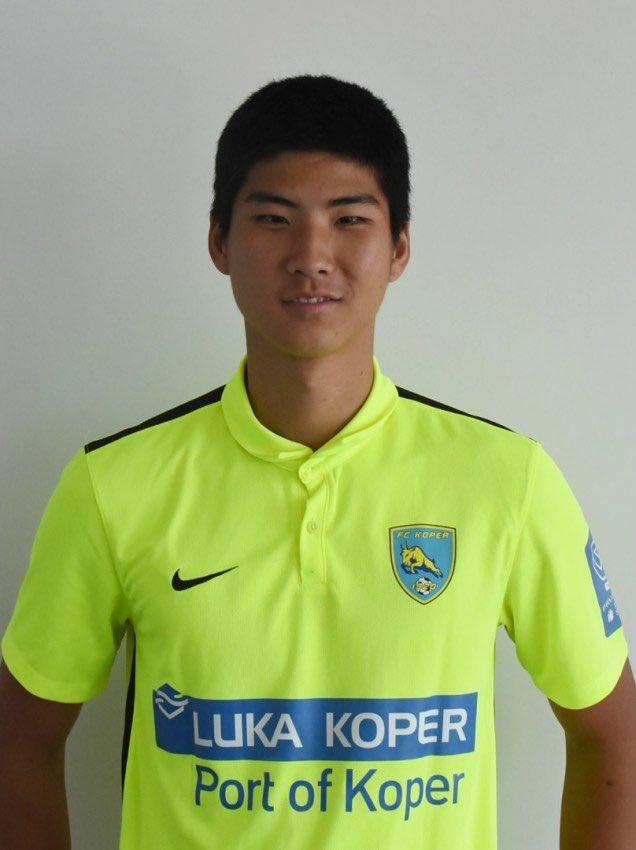 Park In-hyeok llega en calidad de cedido al Koper eslovaco. Twitter
