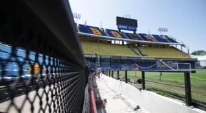 A Argentina não tem data para retorno do futebol. BocaJuniors