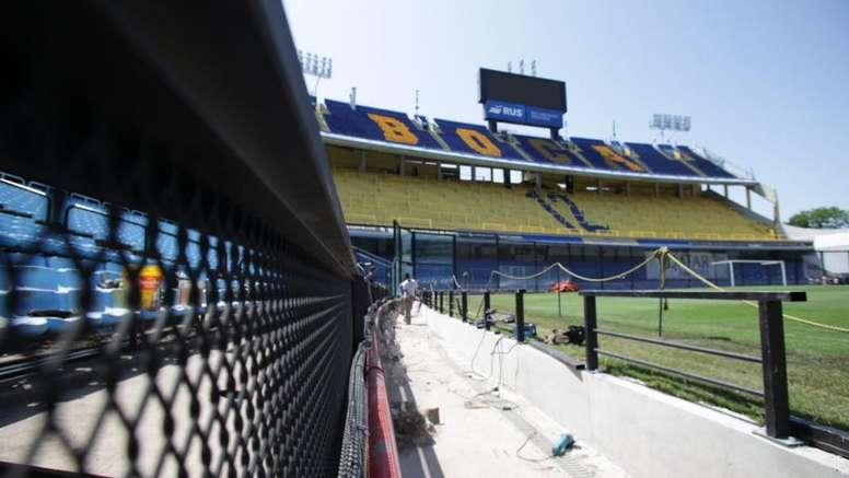 Las reformas de La Bombonera se dejaron ver ante Independiente. BocaJuniors