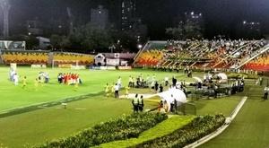 La violence frappe de nouveau le football colombien. Twitter/Pulzo