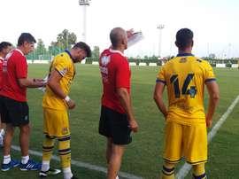 El Alcorcón confirmó la marcha del entrenador del equipo filial. EFE