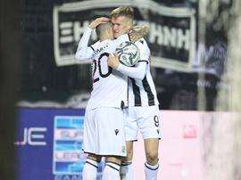 El PAOK logra el liderato ante Atromitos. PAOK