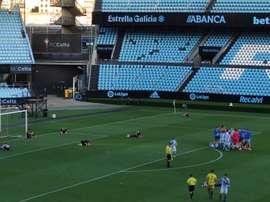 Compostela y Ourense jugaron una auténtica final. Twitter/Ourense_CF