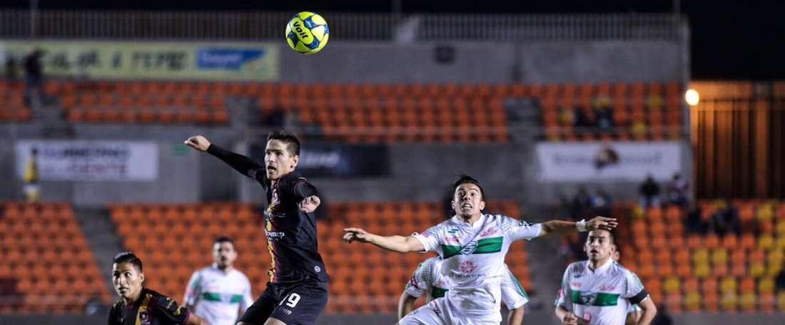 Los locales se llevaron la victoria por la mínima. Twitter/Coras_FC