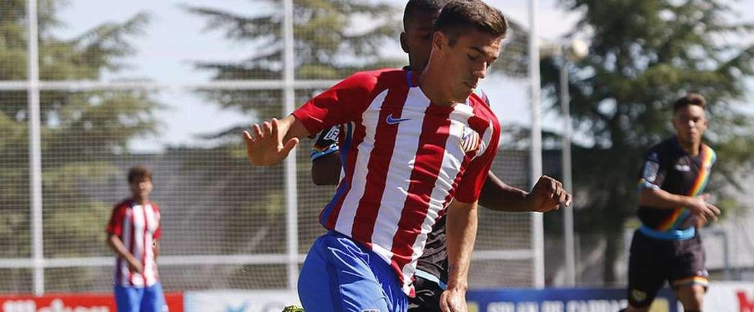 El filial rojiblanco venció por 2-1 al Pinto. AtleticoMadrid