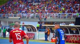 Partido entre el Zulia y el Caracas. ZuliaFC