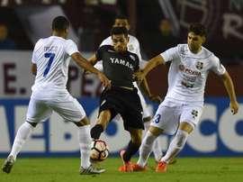 Los argentinos consiguen una importante victoria en la Libertadores. Twitter/Conmebol
