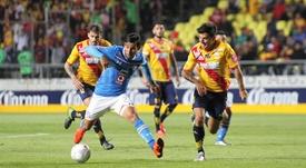 Morelia tumbó a Cruz Azul en los minutos finales. Twitter/Cruz_Azul_FC