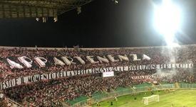 Nace un nuevo Palermo. Captura/Twitter/SoyCalcio_