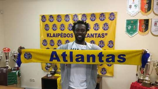 Pascal Feindouno vuelve al fútbol profesional con el Atlantas. Atlantas