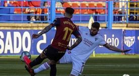 El Extremadura acabó ganando al Mirandés. LaLiga