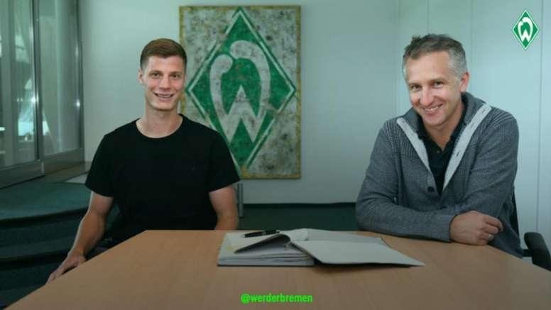 El Werder Bremen consigue gratis a Erras. WerderBremen