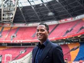Patrick Kluivert, contento tras afrontar una nueva aventura en el Ajax. @PatrickKluivert