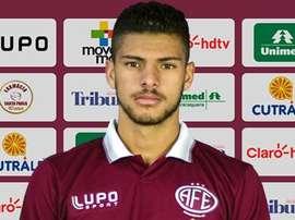 Patrick Marcelino ingresa ha llegado al Kashiwa Reysol en calidad de cedido. Twitter